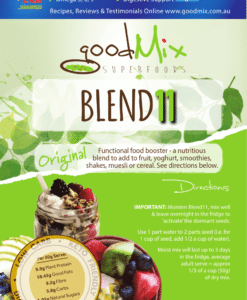 Blend11 | Vegan Bircher Muesli | Gluten Free, Superfood Muesli | goodMix