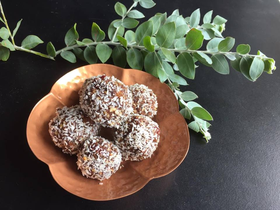 Chocolate Christmas Rum Balls