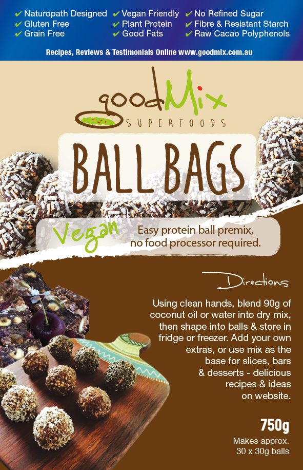 Protein Ball Mix Raw Vegan Healthy Protein Balls Ballbags Goodmix