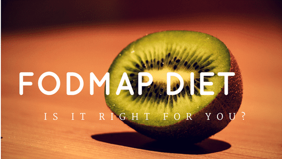 image of kiwi with the words fodmap diet | what does fodmap stand for? | goodmix