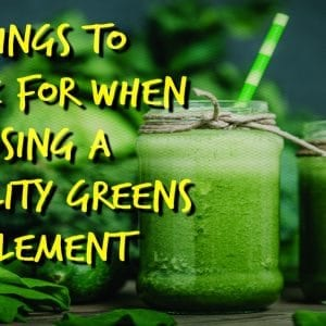 what's the best super greens supplement | goodMix Superfoods