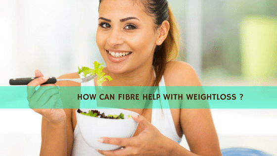 How can fibre help with weightloss