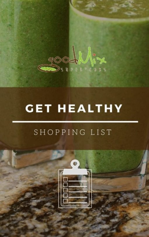 Get Healthy Shopping List