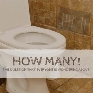 image of toilet | how many poos a day is normal | goodMix Superfoods