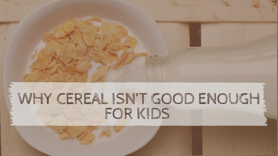 bowl of cornflakes | is cereal unhealthy for kids? | goodMix Superfoods