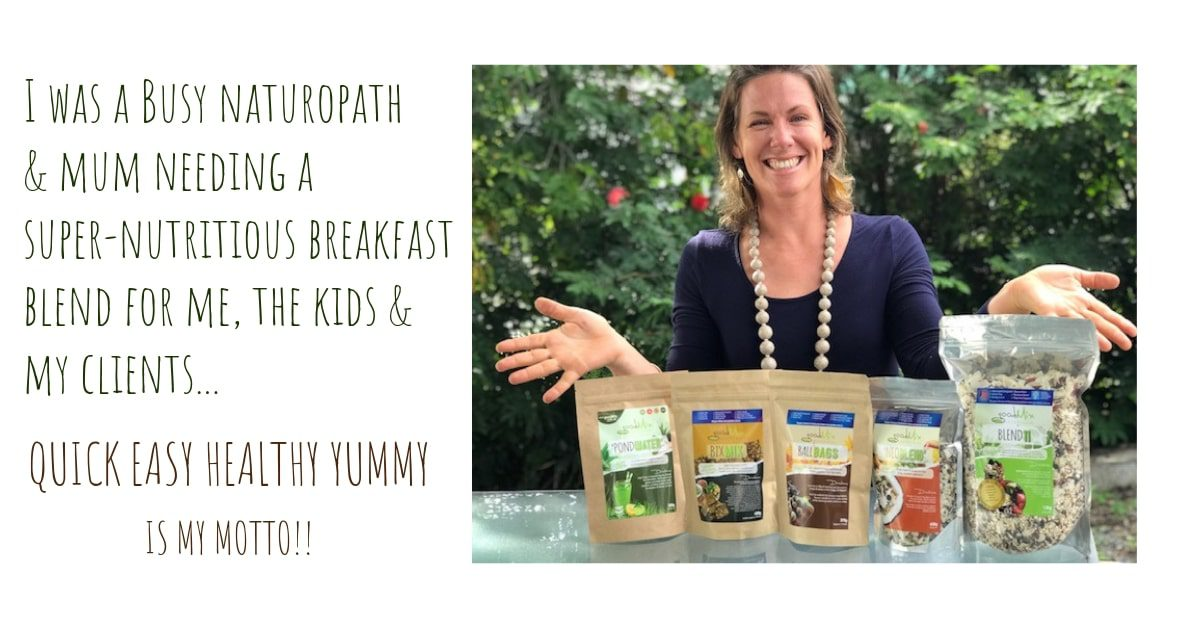 jeanie mcclymont presenting superfoods from our health food online store | goodMix