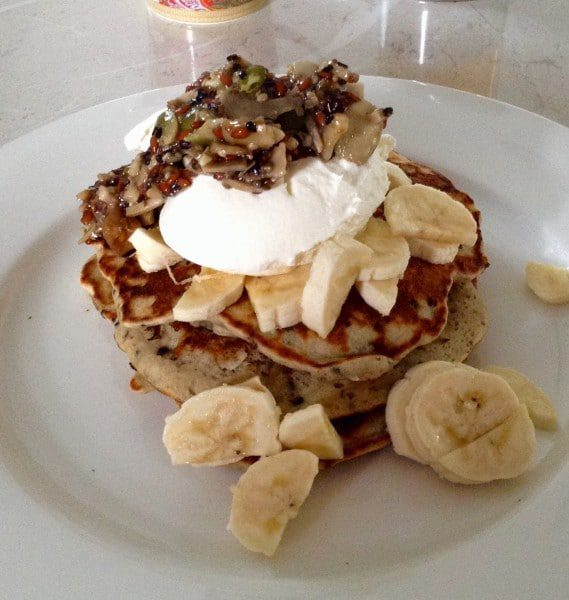 Paleo-friendly pancake