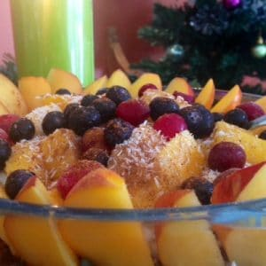 healthy xmas trifle to help avoid christmas weight gain